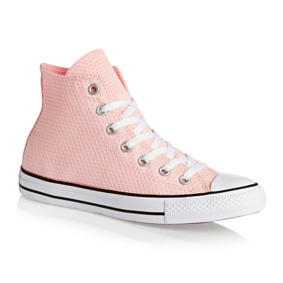 62e6380b9ff7 CTAS Vapor Blush Pink High Top Converse 9